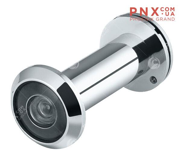 DVP3/NEW, 16/140/50x90 (оптика пластик, угол обзора 140) CP Хром PUNTO (Глазок)