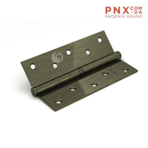 Петля съемная 213-4 100x62x2,5 AB rignt (бронза) правая FUARO (накладные (карточные))