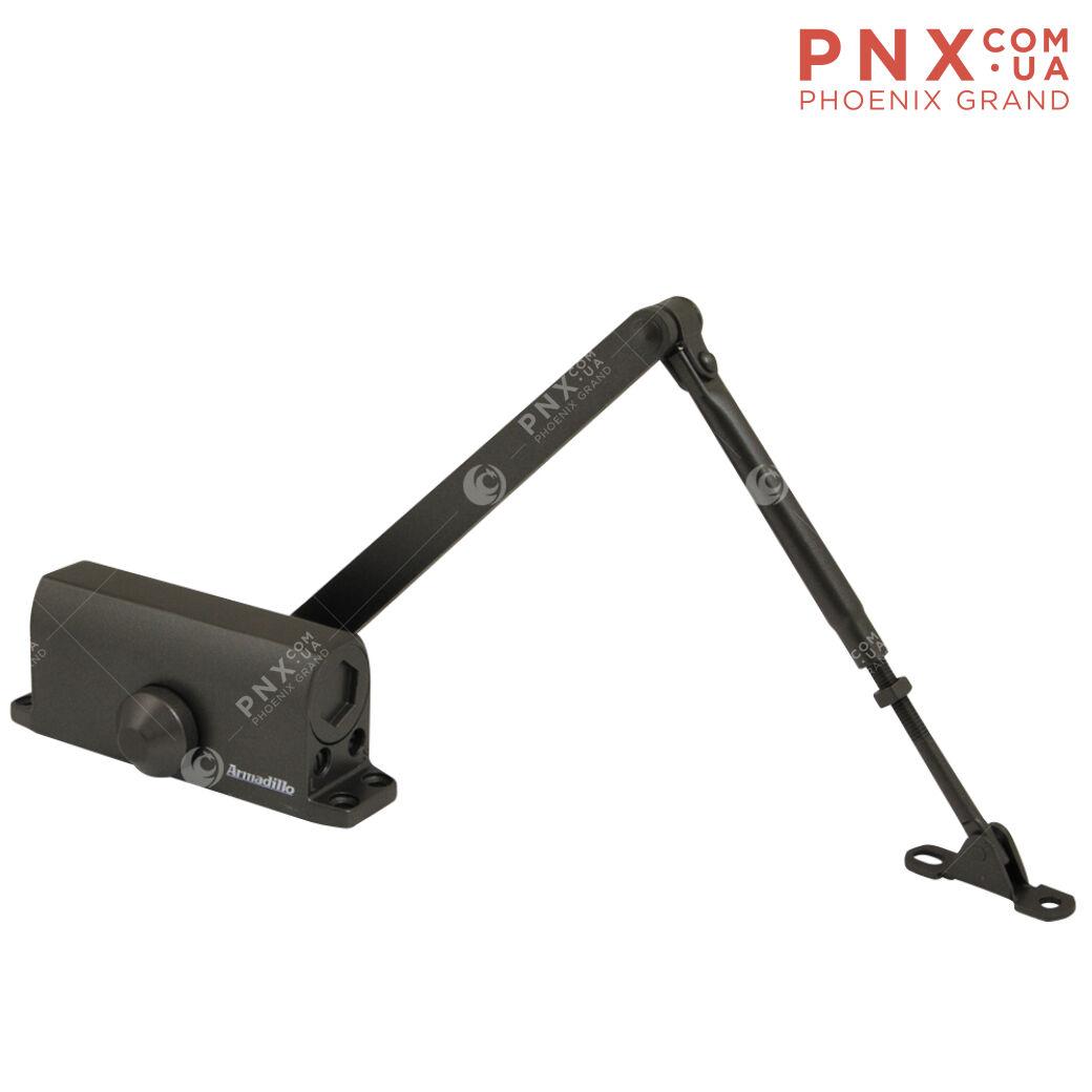 Доводчик дверной морозостойкий LY4 85 кг (бронза) ARMADILLO (с рычажной тягой)