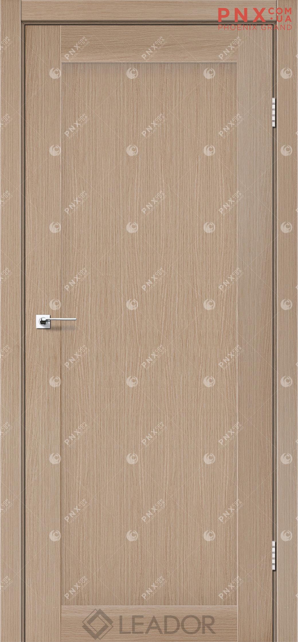 Межкомнатная дверь LEADOR Bavaria, Дуб Мокко, Глухое