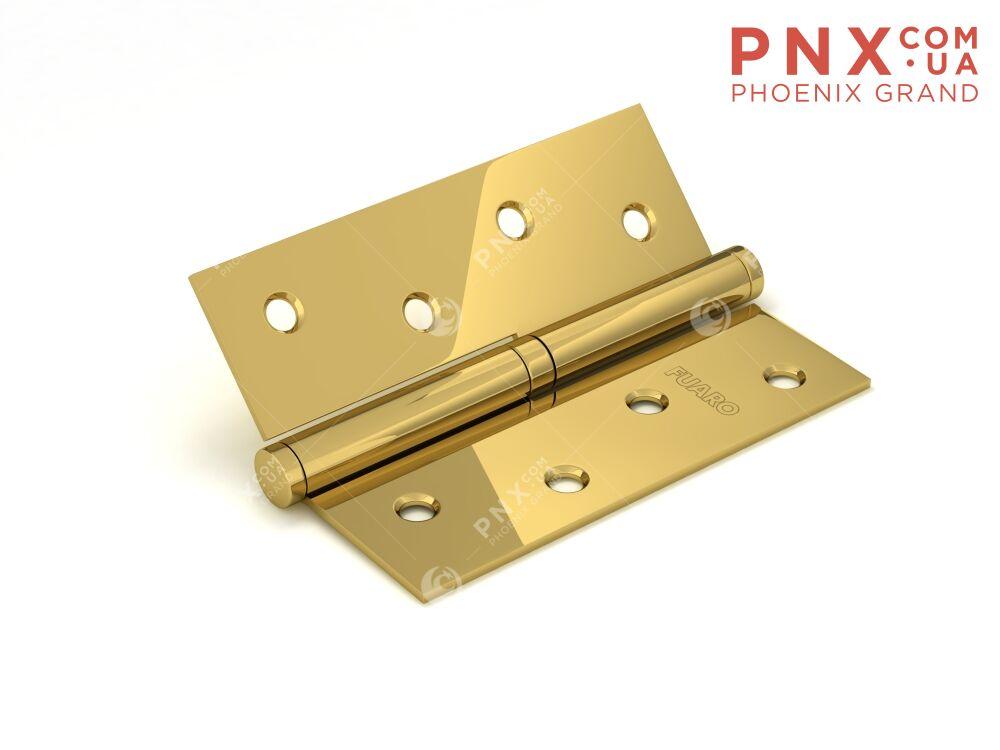 Петля съемная 413-4 100x75x2,5 PB left (латунь) левая FUARO (накладные (карточные))