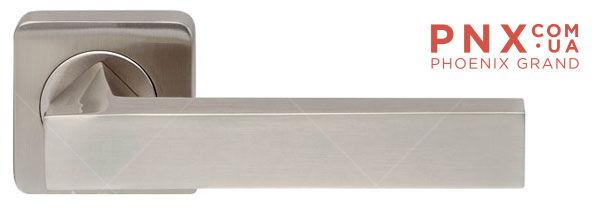 Ручка раздельная CORSICA SQ003-21SN-3 матовый никель ARMADILLO