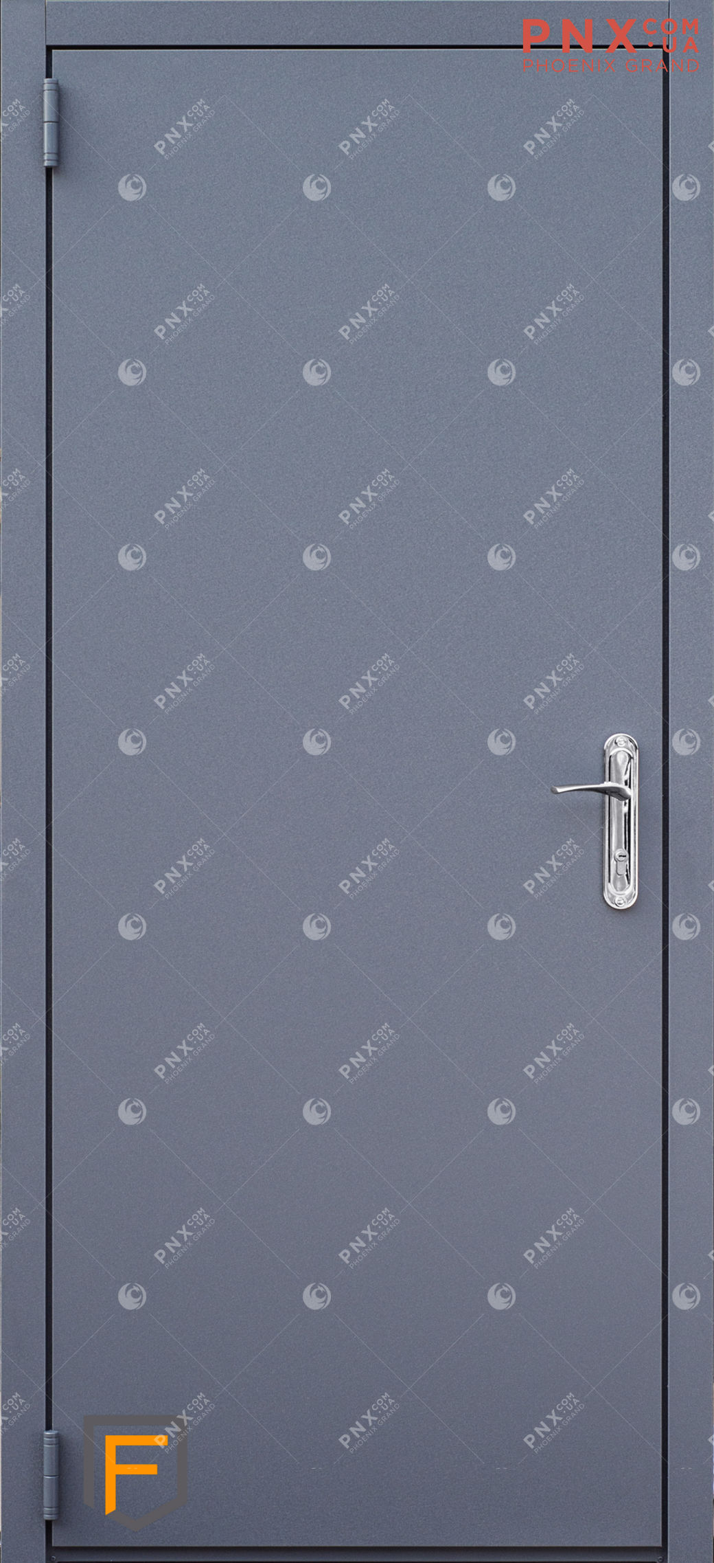 Входная дверь Форт Нокс, Техно, металл/металл графит/графит