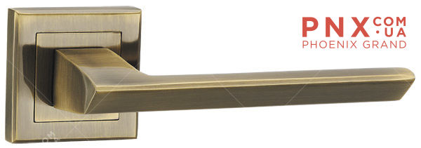 Ручка раздельная BLADE QL ABG-6 зеленая бронза PUNTO (на раздельном основании)