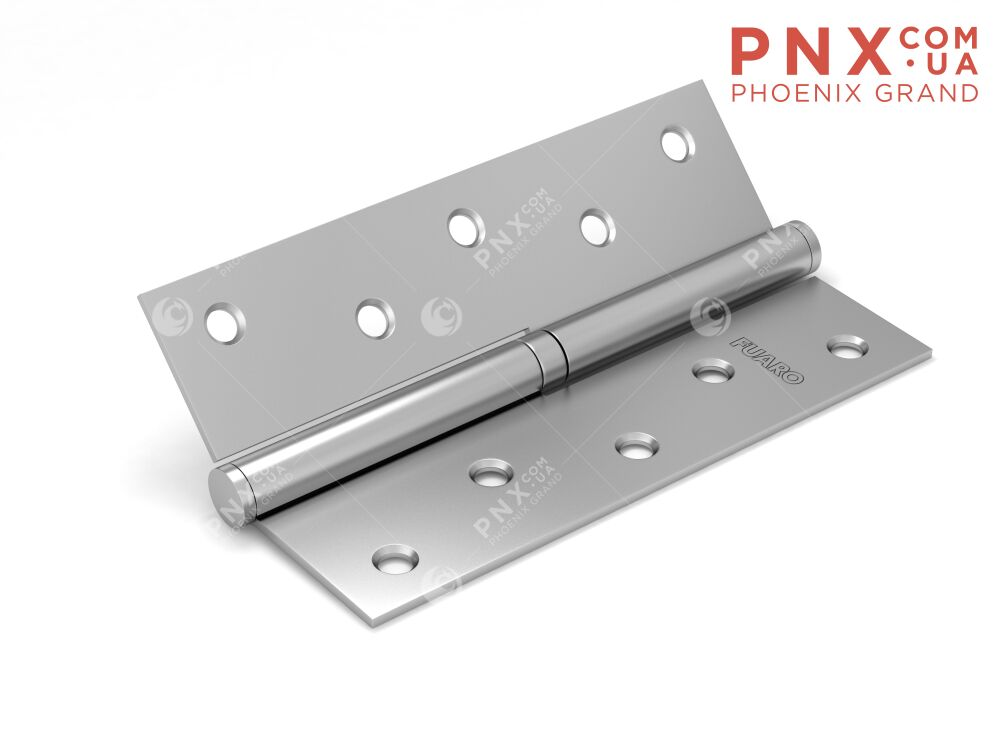 Петля съемная 413-5 125x75x2,5 PN left (перл. никель) левая FUARO (накладные (карточные))