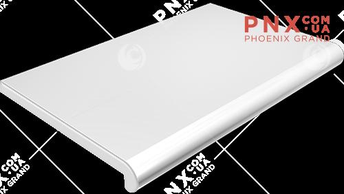 Подоконник Plastolit, цвет белый глянец 450 мм