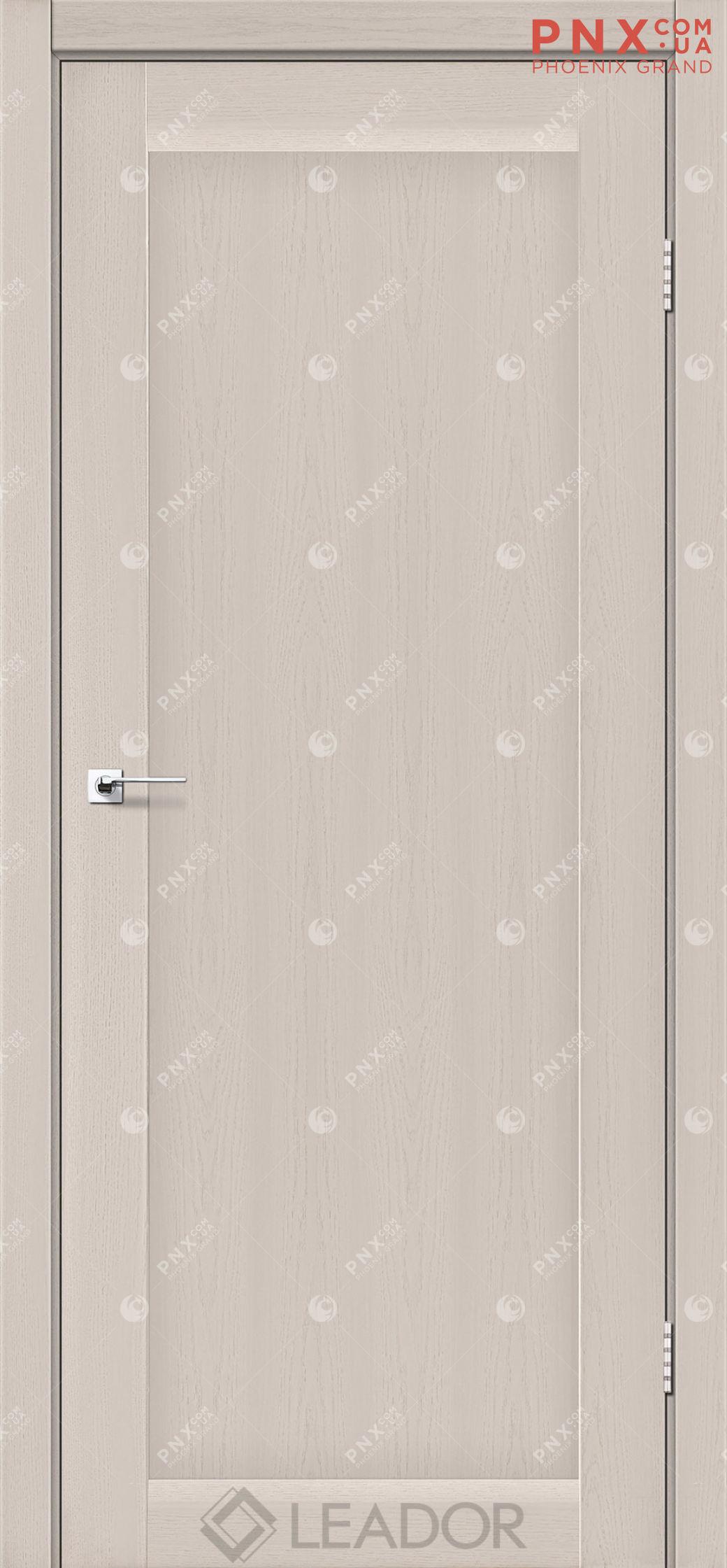 Межкомнатная дверь LEADOR Bavaria, Дуб Латте, Глухое