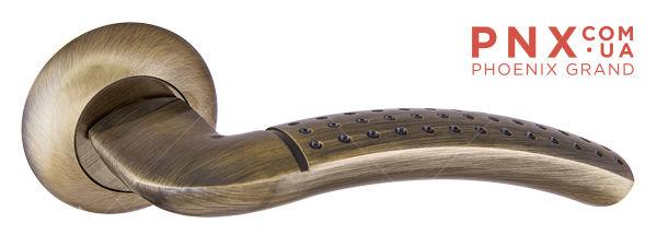 Ручка раздельная LOGICA TL ABG-6 зеленая бронза PUNTO (на раздельном основании)