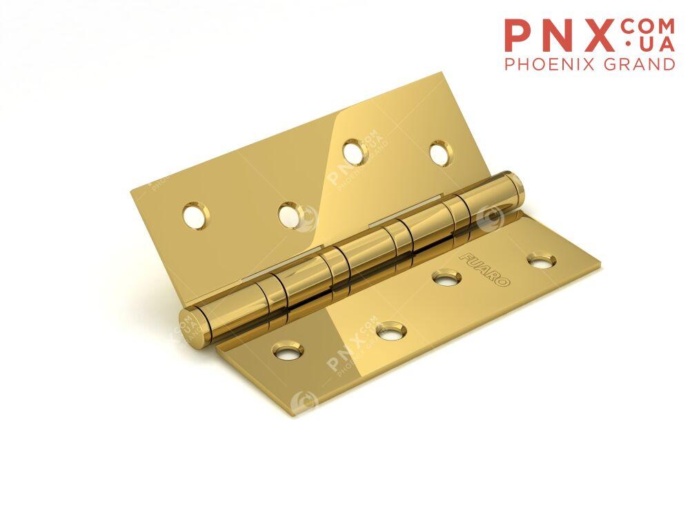 Петля универсальная 4BB 100x75x2,5 PB (латунь) FUARO (накладные (карточные))