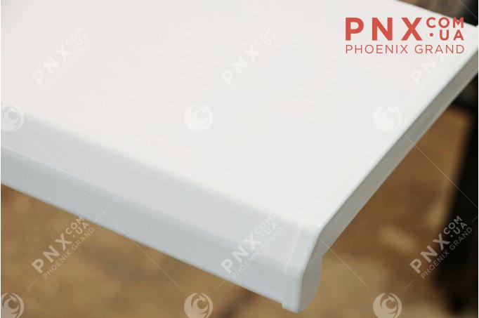 Подоконник Комфорт, цвет белый глянец  500 (2 капиноса) мм