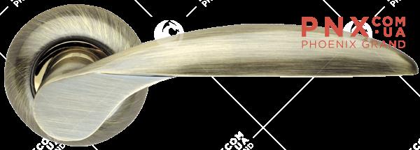 Ручка раздельная Diona LD20-1AB/SG-6 бронза/матовое золото ARMADILLO