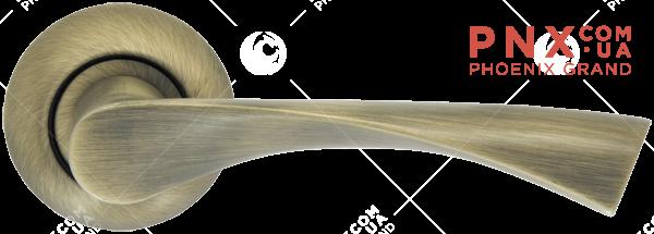 Ручка раздельная Corona LD23-1WAB-11 матовая бронза ARMADILLO