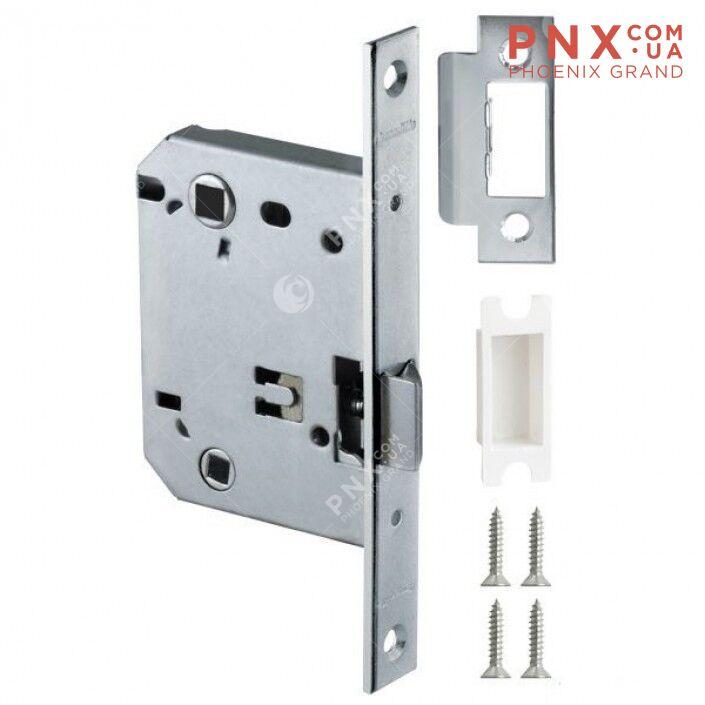 Защёлка врезная (пластик) LH 721-50 SN Мат. никель 70 мм Box /прям/ ARMADILLO (для легких дверей)