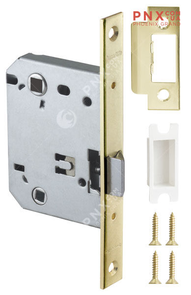 Защелка врезная LH 720-50 GP-2 Золото BOX на 70мм /прям/ ARMADILLO (без ручек в комплекте )