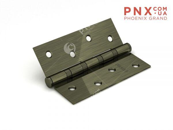 Петля универсальная 4BB 100x75x2,5 AB (бронза) FUARO (накладные (карточные))