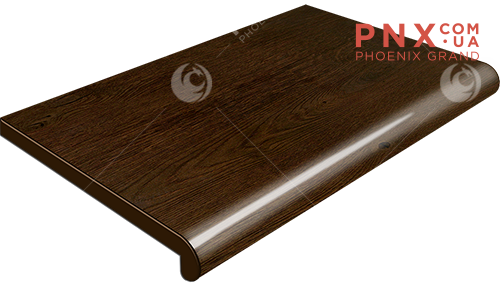 Подоконник Plastolit, цвет рустикальный дуб глянец 500 мм