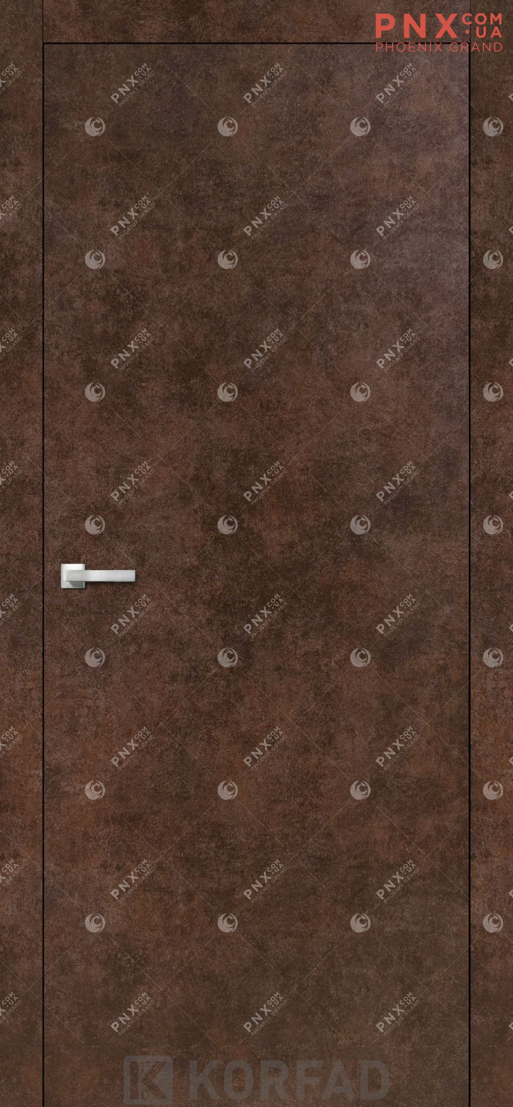 Міжкімнатні двері  Korfad LP-01 , арт бетон, глухі