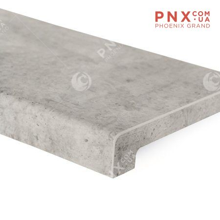 Подоконник - Alber Elite, бетон чикаго 1000 мм