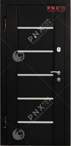 Входная дверь Форт Нокс, Стандарт, мдф/мдф венге южное DG-44+ молдинг 2