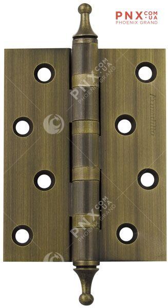 Петля съемная 213-4 100x62x2,5 AB left (бронза) левая FUARO (накладные (карточные))