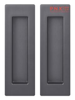 Ручка для раздвижных дверей SH010 URB BPVD-77 Вороненый никель ARMADILLO