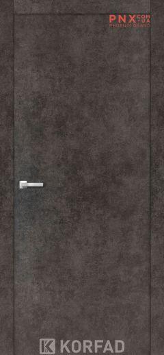 Міжкімнатні двері  Korfad LP-01 , лофт бетон, глухі