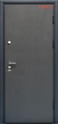 Входная дверь Форт Нокс, Статус, металл/металл S1 графит
