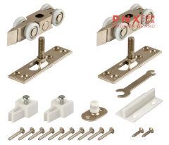 Комплект роликов для раздвижных дверей DIY Comfort 80/4 kit (877+882) ARMADILLO (Раздвижные системы)