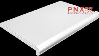 Подоконник Plastolit, цвет белый глянец 100 мм