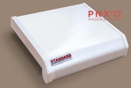 Подоконник Данке Standart, цвет белый, матовый 100мм