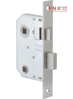 Защелка межкомнатная врезная 300 WC/CP хром FUARO (для легких дверей)