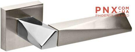 Ручка раздельная DIAMOND DM SN/CP-3 матовый никель/хром FUARO