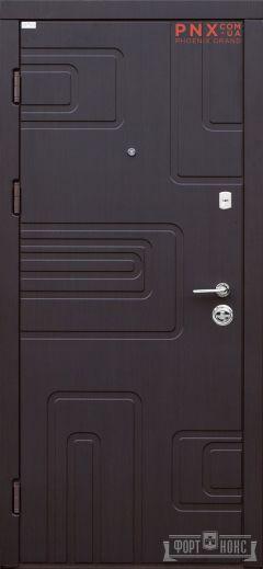 Входная дверь Форт Нокс, Акцент New, мдф/мдф венге  Южный DG-40