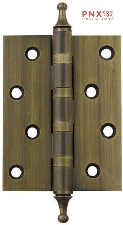 Петля универсальная 4500A (500-A4) 100x75x3 WAB Мат бронза Box ARMADILLO накладные (карточные)