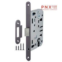Корпус врезного замка LH 85-50 P GR (графит) Box ARMADILLO (для легких дверей)