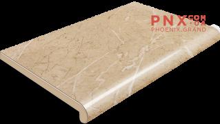 Подоконник Plastolit, цвет бежевый мармур глянец 400 мм