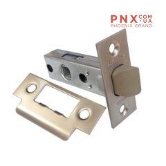 Защёлка врезная (пластик) LH 121-45-25 SN Мат. никель Box /прям/ ARMADILLO (для легких дверей)