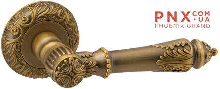 Ручка раздельная IMPERIA SM AB-7 матовая бронза FUARO