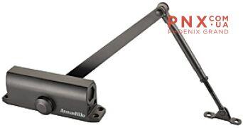 Доводчик дверной морозостойкий LY3 65 кг (бронза) ARMADILLO (с рычажной тягой)