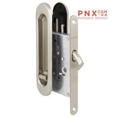 Защелка с ручками для раздвижных дверей Soft LINE SL-011 SN PUNTO