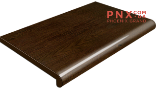 Подоконник Plastolit, цвет рустикальный дуб глянец 450 мм