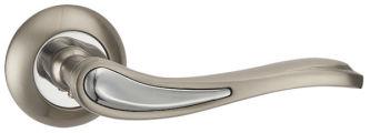 Ручка раздельная SALSA TL SN/CP-3 матовый никель/хром PUNTO (на раздельном основании)