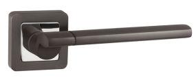 Ручка раздельная GALAXY QR GR/CP-23 графит/хром PUNTO (на раздельном основании)
