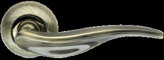 Ручка раздельная Lora LD39-1AB/SG-6 бронза/матовое золото ARMADILLO