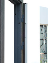 Входная дверь Форт Нокс,  Котедж NEW, металл/металл SP2 Бетон 3 в серебро/белое дерево+серебро - Изображение 3