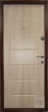 Входная дверь Форт Нокс, Стандарт, мдф/мдф орех шоколадный DG-36/дуб шимо светлый DG-36 - Изображение 2