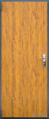 Входная дверь Форт Нокс, Техно, металл/металл золотой дуб 3d/золотой дуб 3d