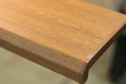 Подоконник Комфорт, цвет дуб, матовый 100 мм