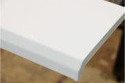 Подоконник Комфорт, цвет белый глянец (2 капиноса) 700 мм