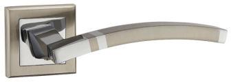 Ручка раздельная NAVY QL SN/CP-3 матовый никель/хром PUNTO (на раздельном основании)